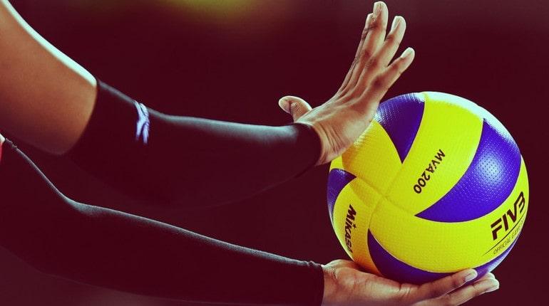 Волейбольная подача