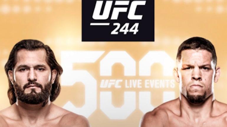 Анонс турнира UFC 244