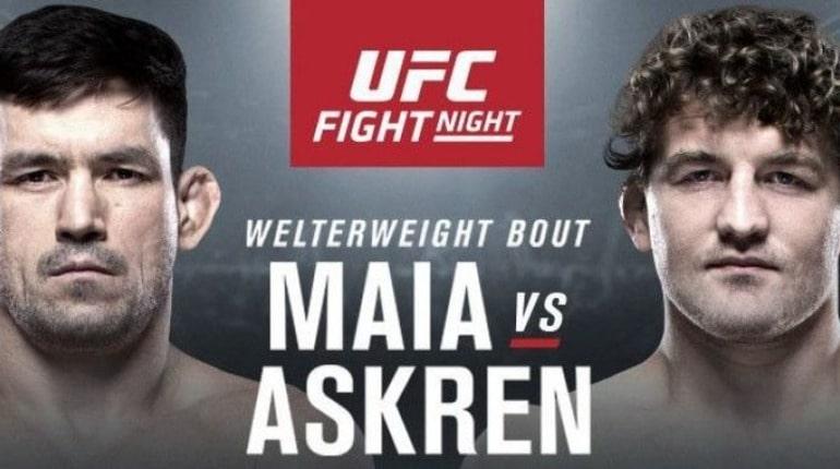 Анонс турнира UFC Fight Night 162
