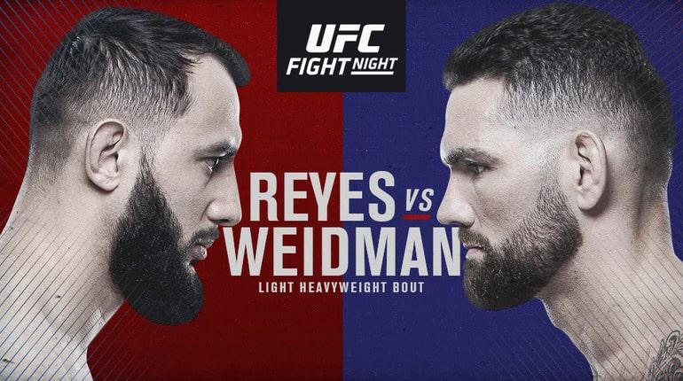 Анонс турнира UFC on ESPN 6. 19.10.2019. Бостон ( Массачусетс, США)