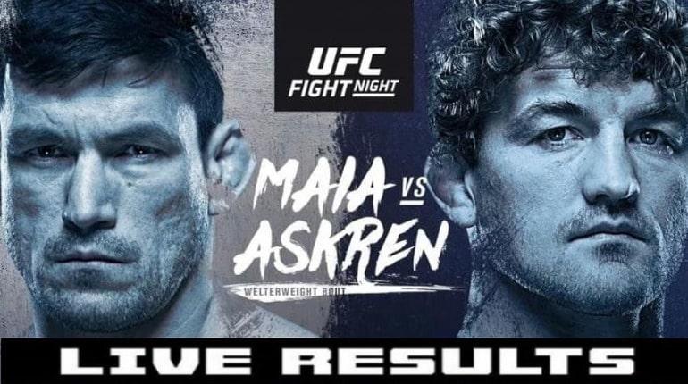 Обзор турнира UFC Fight Night 162