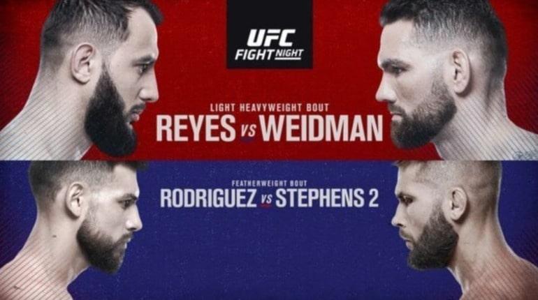 Обзор турнира UFC on ESPN 6. Бостон (штат Массачусетс, США)