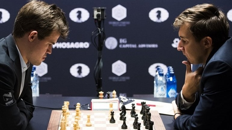 Играют в шахматы