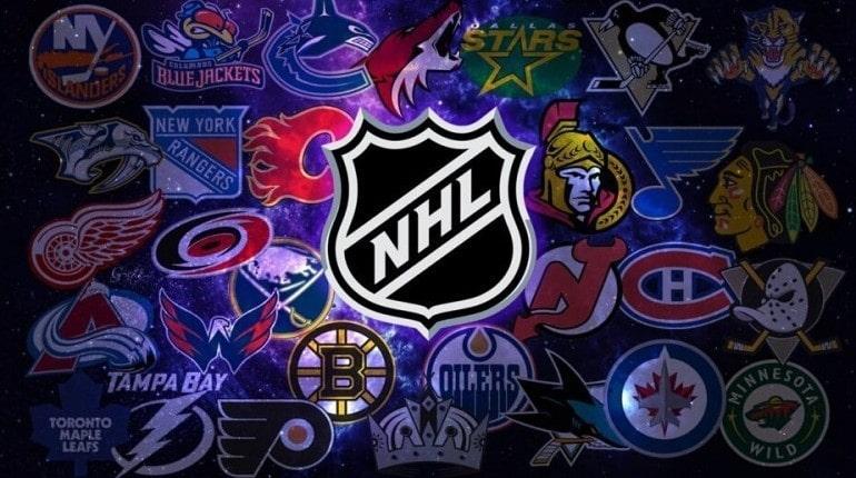 Логотипы команд НХЛ