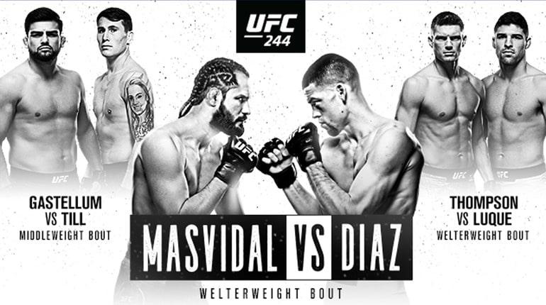 Обзор турнира UFC 244