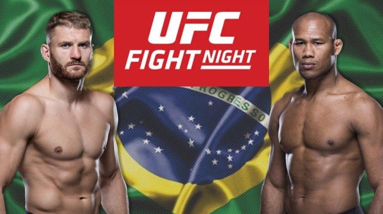 Обзор турнира UFC Fight Night 164