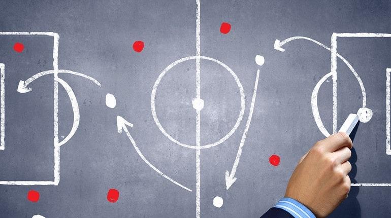 Тактика на футбольном поле
