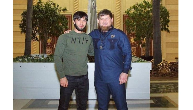Зубайра и Рамзан Кадыров