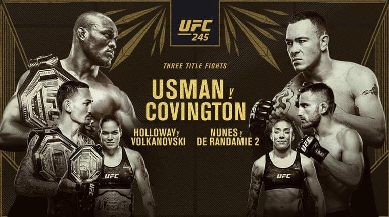 Анонс турнира UFC 245