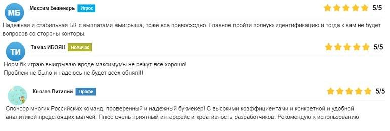 Отзыв о БК Лига Ставок