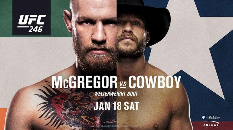 Анонс турнира UFC 246