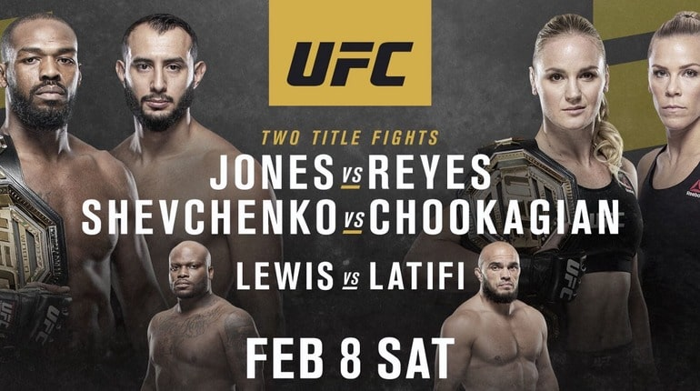 Обзор турнира UFC 247. Хьюстон (штат Техас, США). 09.02.2020